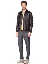 Куртка Lardini EC153 100% кожа Темно-коричневый Италия изображение 1