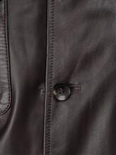 Куртка Lardini EC153 100% кожа Темно-коричневый Италия изображение 5