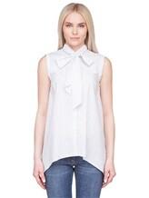 Рубашка Brunello Cucinelli N7006 96% хлопок, 4% лён Белый Италия изображение 1