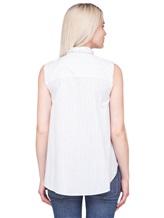 Рубашка Brunello Cucinelli N7006 96% хлопок, 4% лён Белый Италия изображение 3