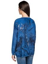 Джемпер AVANT TOI 217D1150 70% кашемир, 30% шёлк Синий Италия изображение 4