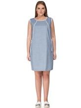 Платье Lorena Antoniazzi LP3131X1 96% шерсть/ 4% эластан Серо-голубой Италия изображение 1