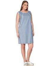 Платье Lorena Antoniazzi LP3131X1 96% шерсть/ 4% эластан Серо-голубой Италия изображение 2