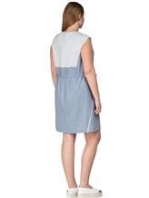 Платье Lorena Antoniazzi LP3131X1 96% шерсть/ 4% эластан Серо-голубой Италия изображение 3