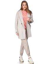 Пальто Peserico S20392 50% шерсть, 50% кашемир Светло-бежевый Италия изображение 0