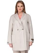 Пальто Peserico S20392 50% шерсть, 50% кашемир Светло-бежевый Италия изображение 1
