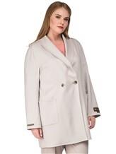Пальто Peserico S20392 50% шерсть, 50% кашемир Светло-бежевый Италия изображение 2