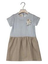 Платье Olive 1033 66% вискоза, 34% хлопок Бело-голубой Италия изображение 0