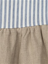 Платье Olive 1033 66% вискоза, 34% хлопок Бело-голубой Италия изображение 1
