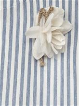 Платье Olive 1033 66% вискоза, 34% хлопок Бело-голубой Италия изображение 2