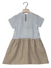Платье Olive 1033 66% вискоза, 34% хлопок Бело-голубой Италия изображение 3