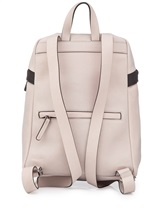 Рюкзак Brunello Cucinelli 1499 100% кожа Бледно-розовый Италия изображение 2