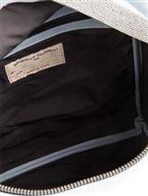 Рюкзак Brunello Cucinelli 1499 100% кожа Бледно-голубой Италия изображение 6