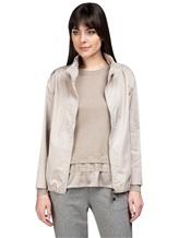 Куртка Peserico S24066 100% полиэстер Бежевый Италия изображение 0