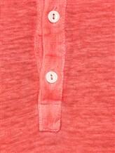Поло 120% Lino L0M7672 100% лён Красный Болгария изображение 5