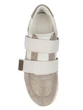 Кроссовки Peserico S39265C0 80% кожа, 9% хлопок, 4% полиуретан, 4% полиэстер, 2% вискоза, 1% металл Серый Италия изображение 4