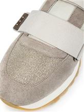 Кроссовки Peserico S39265C0 80% кожа, 9% хлопок, 4% полиуретан, 4% полиэстер, 2% вискоза, 1% металл Серый Италия изображение 5