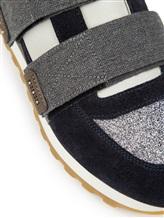 Кроссовки Peserico S39265C0 80% кожа, 9% хлопок, 4% полиуретан, 4% полиэстер, 2% вискоза, 1% металл Серо-синий Италия изображение 5