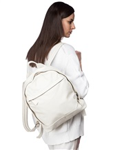Рюкзак Santoni UIBBA1472 100% кожа Белый Италия изображение 8