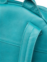 Рюкзак Santoni UIBBA1472 100% кожа Бирюзовый Италия изображение 3