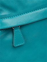 Рюкзак Santoni UIBBA1472 100% кожа Бирюзовый Италия изображение 4