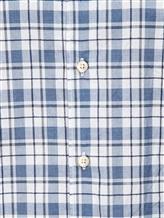 Рубашка XACUS 719ML 96% хлопок, 4% полиамид Бело-синий Италия изображение 4