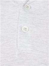 Поло Brunello Cucinelli 8396 100% хлопок Светло-серый Италия изображение 5