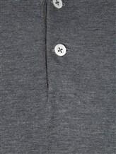 Поло Brunello Cucinelli 8396 100% хлопок Темно-серый Италия изображение 3