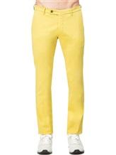 Брюки EREDA SC\1 97% хлопок 3% эластан Желтый Италия изображение 1