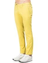 Брюки EREDA SC\1 97% хлопок 3% эластан Желтый Италия изображение 2