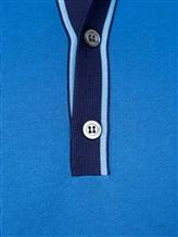 Поло Bilancioni UMM030 100%хлопок Сине-голубой Италия изображение 5