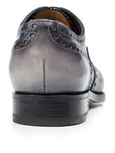 Ботинки Santoni MCCG14059 100% кожа Сине-серый Италия изображение 3