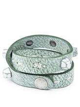 Браслет Henry Beguelin PB0448 100% кожа Серо-зеленый Италия изображение 1