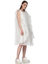 Платье Semi COUTURE E7E403 100%хлопок Белый Италия изображение 1