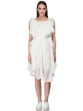 Платье Semi COUTURE E7E403 100%хлопок Белый Италия изображение 2