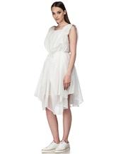 Платье Semi COUTURE E7E403 100%хлопок Белый Италия изображение 3