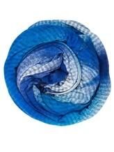 Палантин Faliero Sarti 2013 100% модал Сине-голубой Италия изображение 0