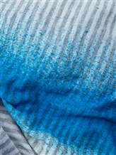 Палантин Faliero Sarti 2013 100% модал Сине-голубой Италия изображение 1