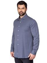 Рубашка FAY NRMA334245L 100%хлопок Темно-синий Румыния изображение 3