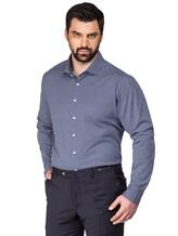 Рубашка FAY NRMA334245L 100%хлопок Темно-синий Румыния изображение 0