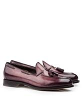 Ботинки Santoni MCHG12880 100% кожа Лиловый Италия изображение 0