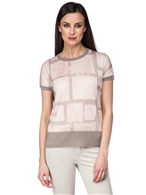 Джемпер Piazza Sempione 2421 70% кашемир, 30% шёлк Бежево-розовый Италия изображение 0