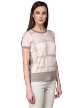 Джемпер Piazza Sempione 2421 70% кашемир, 30% шёлк Бежево-розовый Италия изображение 2