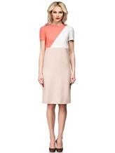 Платье Agnona R9200A 96% шерсть 4% эластан Бледно-розовый Италия изображение 1