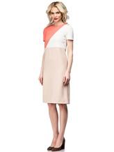 Платье Agnona R9200A 96% шерсть 4% эластан Бледно-розовый Италия изображение 2