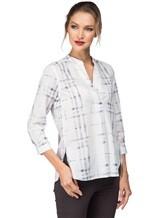 Рубашка Le Sarte Pettegole R7P 100%хлопок Бело-синий Италия изображение 0