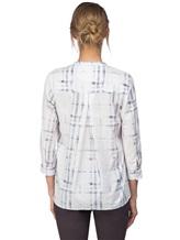 Рубашка Le Sarte Pettegole R7P 100%хлопок Бело-синий Италия изображение 3