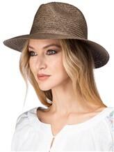 Шляпа EREDA 67/491 100% бумага Серо-коричневый Италия изображение 1
