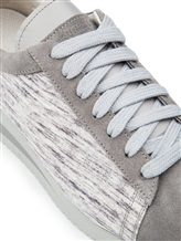 Кеды Brunello Cucinelli 204 100% кожа Серый Италия изображение 5