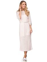 Платье Vittoria Sedici AA1317 68% лён, 28% хлопок, 4% полиамид Розовый Италия изображение 0